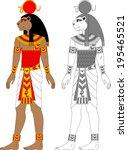 illustration of egyptian zodiac ...   Shutterstock .eps vector #195465521