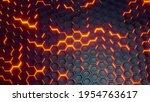 Futuristic Abstract Hexagonal...