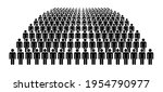large group of people. concept... | Shutterstock .eps vector #1954790977