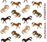 vector seamless pattern of...   Shutterstock .eps vector #1954809934