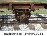 Old Train  Old Wagon  Rusty...