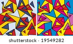 fragments of the abstraction ...   Shutterstock .eps vector #19549282