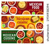 mexican cuisine food banners... | Shutterstock .eps vector #1954938394