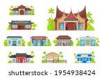 national restaurant building... | Shutterstock .eps vector #1954938424