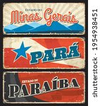 brazil grunge signs of paraiba  ... | Shutterstock .eps vector #1954938451