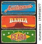 brazil amazonas  bahia and... | Shutterstock .eps vector #1954938577
