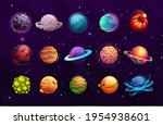 planets of alien or fantasy...