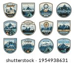 mountain camping expedition ...   Shutterstock .eps vector #1954938631