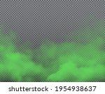 green bad smell on transparent... | Shutterstock .eps vector #1954938637