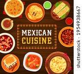mexican cuisine vector tacos de ... | Shutterstock .eps vector #1954938667