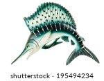 A Small Swordfish Fridge Magne...