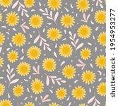 cute spring seamless pattern.... | Shutterstock .eps vector #1954953277