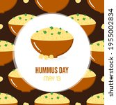 national hummus day vector... | Shutterstock .eps vector #1955002834