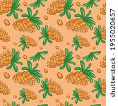a pattern with berries.... | Shutterstock .eps vector #1955020657