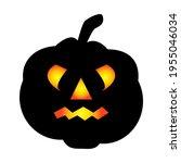 halloween pumpkin icon. autumn... | Shutterstock .eps vector #1955046034