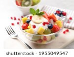 Delicious Fruit Salad With...