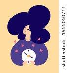 "love language ""time"". spending... | Shutterstock .eps vector #1955050711"