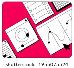 vector illustration of ui....