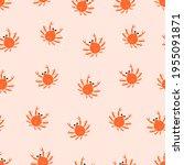 endless seamless pattern on a... | Shutterstock .eps vector #1955091871