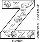 children's alphabet coloring... | Shutterstock .eps vector #1955126734