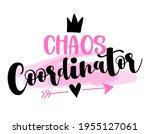 chaos coordinator   happy... | Shutterstock .eps vector #1955127061