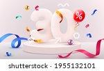 30 percent off. discount... | Shutterstock .eps vector #1955132101