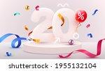 20 percent off. discount...   Shutterstock .eps vector #1955132104
