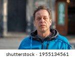 Street Portrait Of A 45 50 Year ...