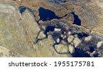 Aerial View Of Wetlands  Mowed...