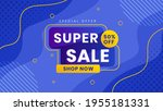 super sale special offer with... | Shutterstock .eps vector #1955181331