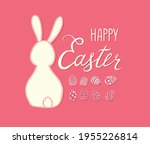 happy easter greeting card....   Shutterstock .eps vector #1955226814