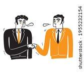 handshake of two businessmen ...   Shutterstock .eps vector #1955232154