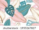 vintage luxury seamless floral... | Shutterstock .eps vector #1955267827