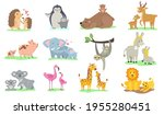 bright little animals with... | Shutterstock .eps vector #1955280451