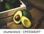 Avocado With Still Life Oil...
