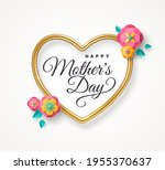 happy mother's day greeting... | Shutterstock .eps vector #1955370637