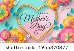happy mother's day greeting...   Shutterstock .eps vector #1955370877