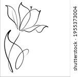 vector handmade fashion digital ...   Shutterstock .eps vector #1955373004