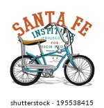 bicycle illustration 2 | Shutterstock .eps vector #195538415