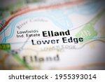 elland lower edge on a... | Shutterstock . vector #1955393014