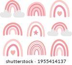 vector set bundle of hand drawn ...   Shutterstock .eps vector #1955414137