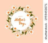 happy mother's day  celebration ...   Shutterstock .eps vector #1955453071