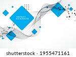 vector modern science ... | Shutterstock .eps vector #1955471161