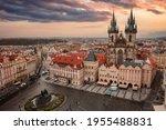 Prague Czech Republic. Old Town ...