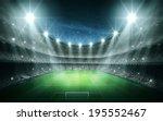 light of stadium | Shutterstock . vector #195552467