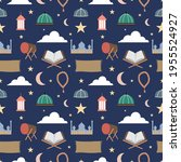 Islamic Seamless Pattern For...