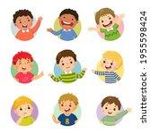 vector cartoon set of different ...   Shutterstock .eps vector #1955598424