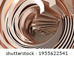 abstract gold background.... | Shutterstock . vector #1955622541