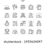 karting. racing car. gas... | Shutterstock .eps vector #1955634097