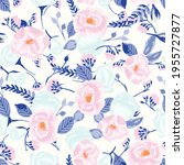 seamless vector pattern with... | Shutterstock .eps vector #1955727877